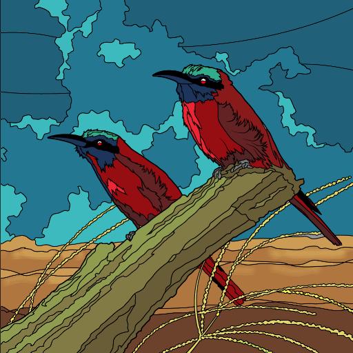 pack1_bee_eater_birds